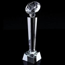 鑽石水晶獎座 tc15