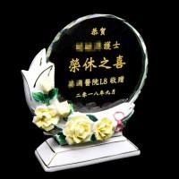 水晶獎座 tc92 母親節紀念座