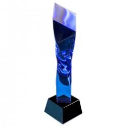 5高度水晶獎座 td05