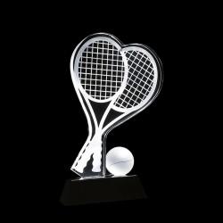 網球水晶獎座 tp06